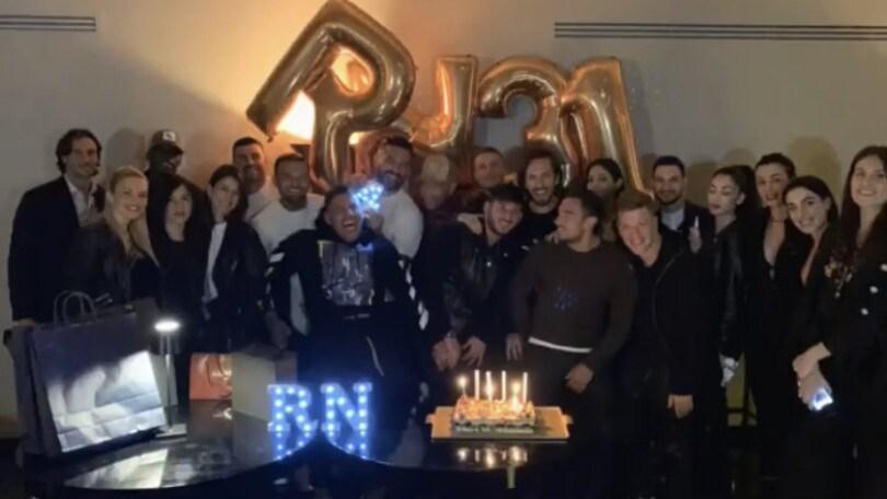 Nainggolan, festa di compleanno a Roma: c'è anche Politano