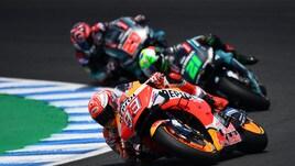 MotoGp, test Jerez: Quartararo in testa a metà giornata, Rossi indietro