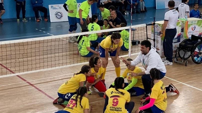 Sitting Volley: spettacolo e divertimento nel primo week end del Campionato Italiano