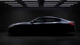 BMW Serie 8 Gran Coupé, il teaser della quattro porte in uscita a giugno