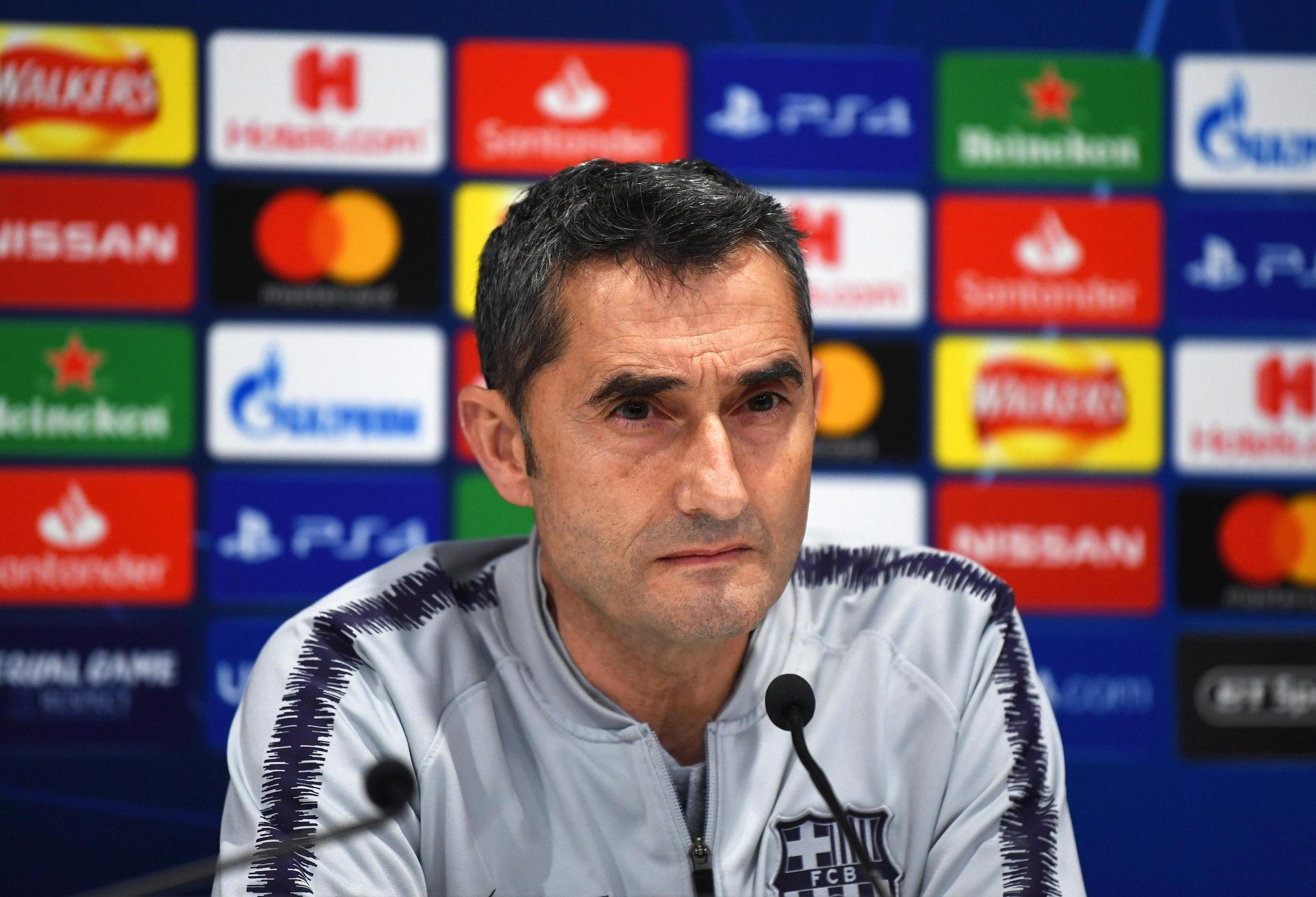 Valverde, non dobbiamo pensare ad andata