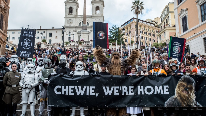 Star Wars Day, che entusiasmo a Roma! FOTO e VIDEO