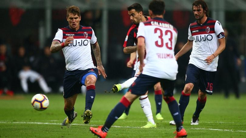 Serie A Milan-Bologna 2-1, il tabellino