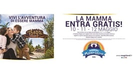 Le mamme entrano gratis a Rainbow Magicland il 10 - 11 e 12 maggio