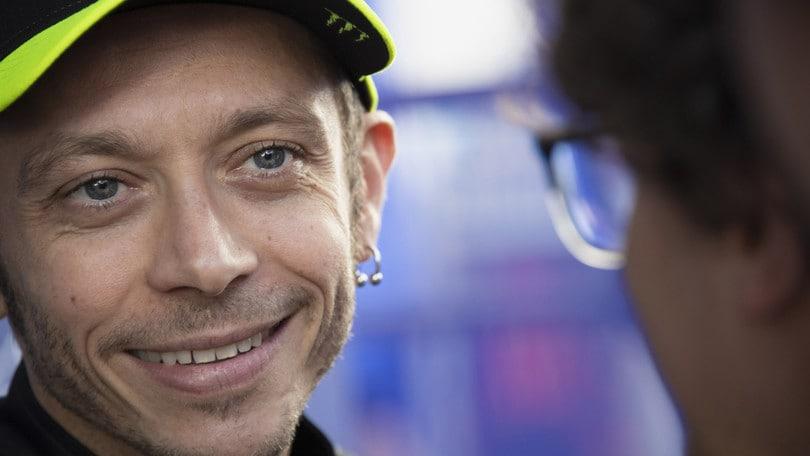 MotoGp test Jerez, Rossi: «Non ho girato per il time attack»