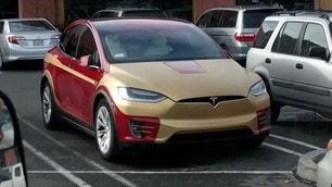 La Tesla Model X in stile Iron Man -  Le Foto
