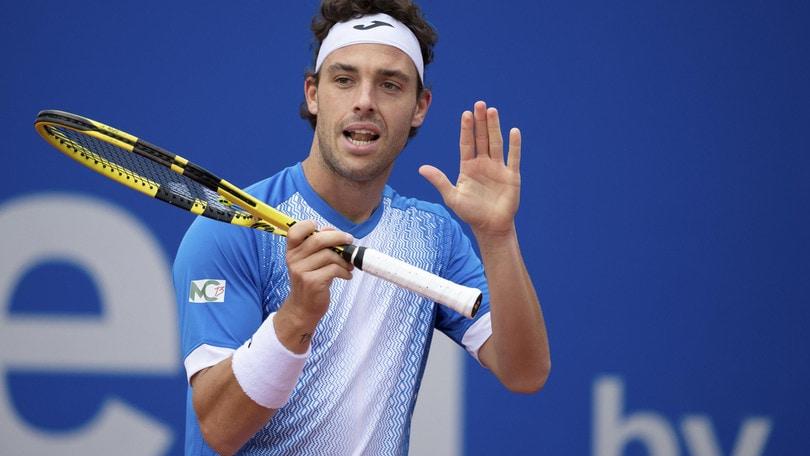 ATP 1000 Madrid: Fognini al 2° turno, Cecchinato eliminato da Schwartzman