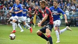 Serie A Genoa, per Lazovic edema al polpaccio