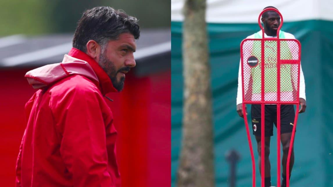 I rossoneri si preparano per la prossima sfida di Serie A: il tecnico e il centrocampista hanno chiarito dopo il battibecco in panchina