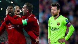 Liverpool pazzesco, è in finale: la gioia dei Reds, la delusione di Messi
