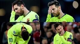 Messi, altra serata da incubo come a Roma