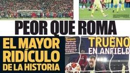 La stampa europea massacra il Barcellona: «Peggio che a Roma»
