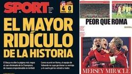 Flop Barcellona, la stampa europea: «Ridicoli!»