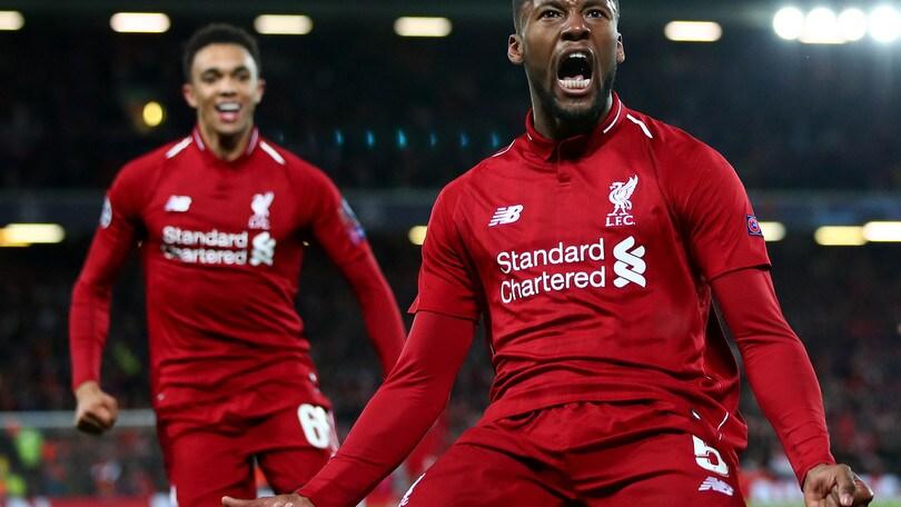 Champions, incredibile Liverpool: il trionfo passa da 23,00 a 1,45