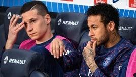 «Caos Psg, rissa Draxler-Neymar»