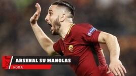 Roma, l'Arsenal su Manolas