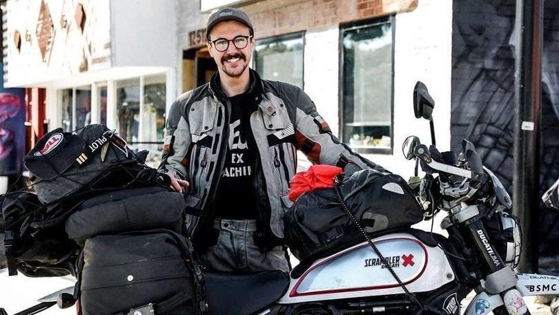 L'impresa di Henry Crew, giro del mondo da record con la Ducati Scrambler