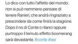 Roma, i tifosi puntano Sarri o Gasperini. E lanciano l'idea De Rossi