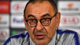 Sarri allontana la Roma: «Voglio rimanere al Chelsea»