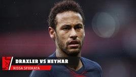 PSG, rissa sfiorata tra Draxler e Neymar