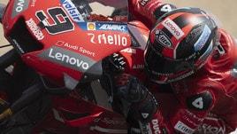 MotoGp, Ducati: a Le Mans un look speciale firmato Dovi e Petrucci