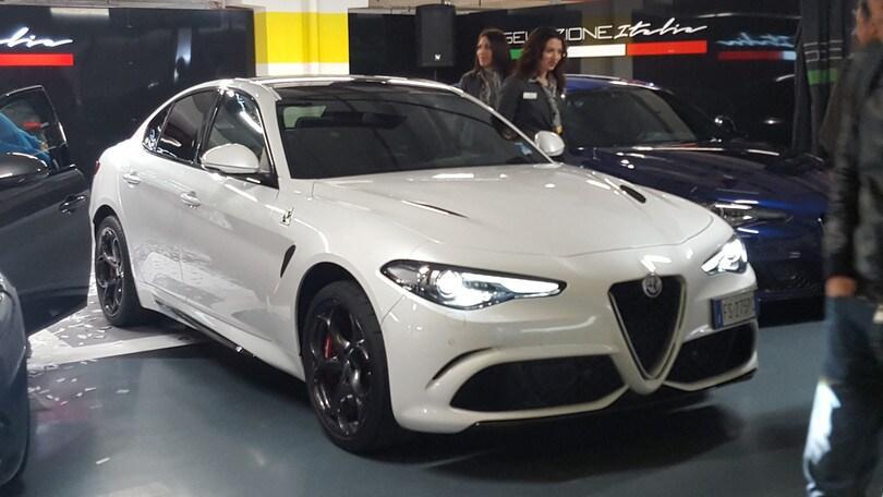 Alfa Romeo Giulia Quadrifoglio, a noleggio con Hertz