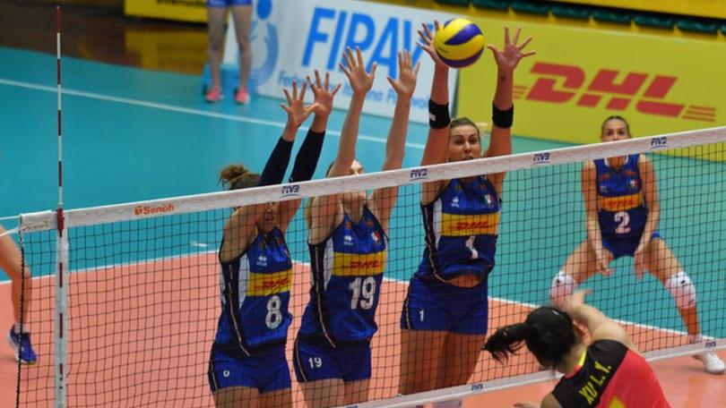 Volley: Nazionale Femminile, bissato il successo sulla Cina U.23