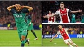 Champions, il Tottenham vola in finale con una tripletta di Lucas Moura. Ajax eliminato