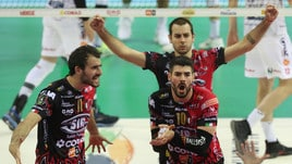 Volley: Superlega, Perugia travolge la Lube e si porta avanti 2-1