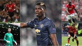 «Pogba, De Gea, Lukaku, Sanchez e Fred lasciano lo United per una clausola»