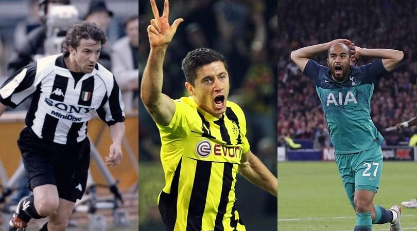 Champions, Lucas Moura e gli altri. I giocatori che hanno siglato una tripletta in semifinale