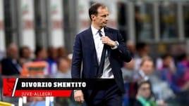 Juventus, smentito divorzio da Allegri