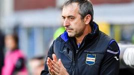 Serie A Sampdoria, Giampaolo: «Il Genoa farà il tifo per noi? Paradossale»