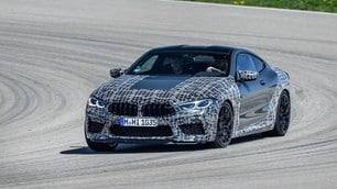 Nuova BMW M8: le immagini dei muletti