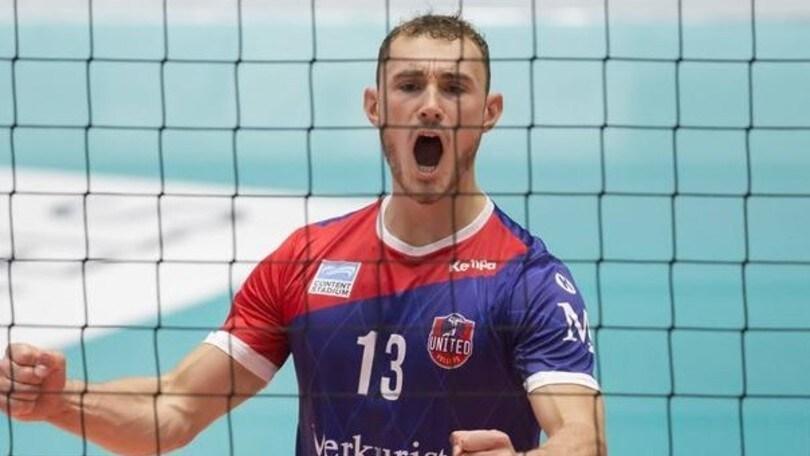 Volley: Superlega,Moritz Karlitzek, schiacciatore tedesco per Latina