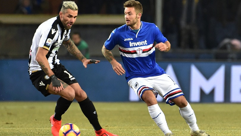 Serie A Sampdoria, Linetty torna a lavorare in gruppo