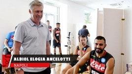Napoli, Albiol elogia Ancelotti