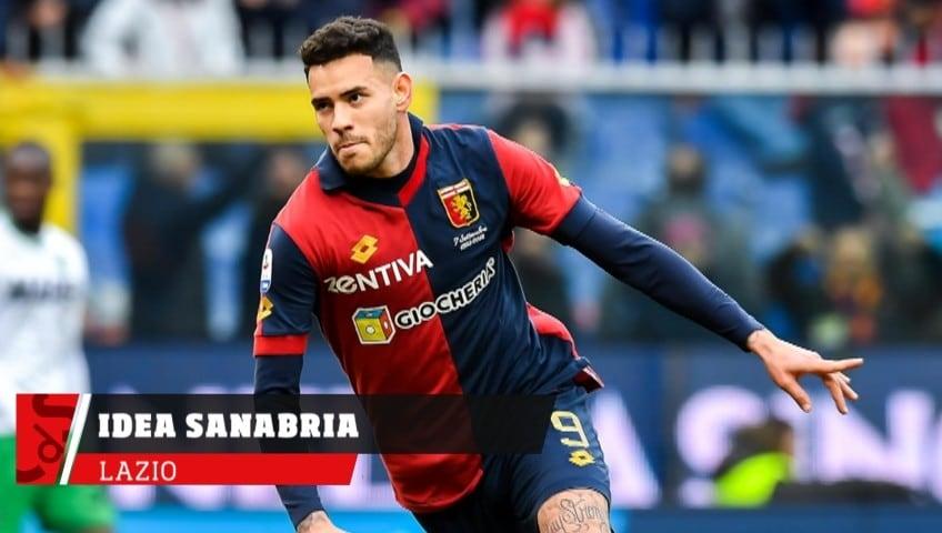 Lazio, idea Sanabria per l'attacco