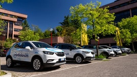 Opel e Mediolanum, partner del Giro d'Italia: le foto