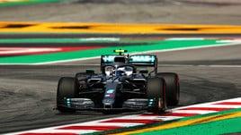 F1 Gp Spagna, Bottas davanti a Vettel e Leclerc nelle libere