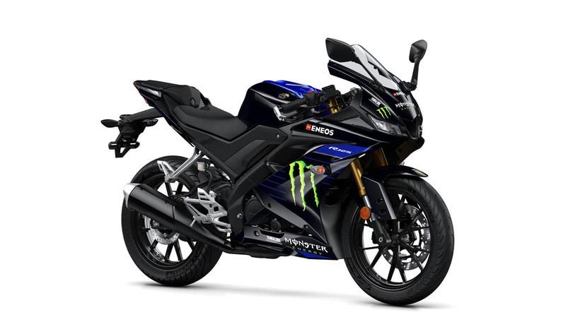 Yamaha presenta la YZF-R125 Monster Energy