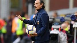 Serie A Genoa, Prandelli: «L'Atalanta non sarà distratta dalla finale di Coppa Italia»