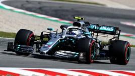 F1 Gp Spagna: doppietta Mercedes nelle libere, Ferrari indietro