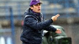 Serie A Fiorentina, Montella: «La contestazione non aiuta la squadra»