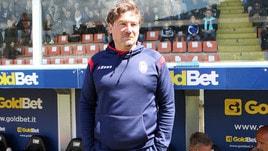Serie B Crotone, Stroppa: «E' stata una stagione sotto le attese, ma ci siamo ripresi»