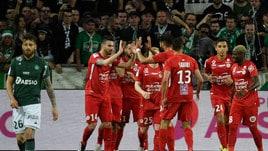 Ligue 1, Saint-Ètienne ko: il sogno Champions si allontana