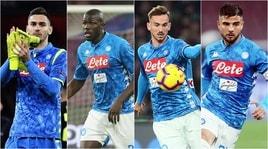 Napoli, i 10 intoccabili di Ancelotti