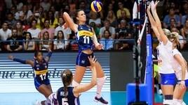 Volley: le azzurre in partenza per il torneo di Montreux