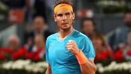 Tennis, Internazionali: Nadal vola, Djokovic a 4,50