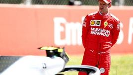 F1 Ferrari, Vettel: «Ancora non siamo veloci»